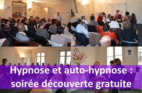 Jeudi 17 décembre : soirée découverte de l'hypnose - gratuit.