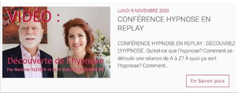 France-hypnose-Formation une conference pour tout savoir sur l'hypnose