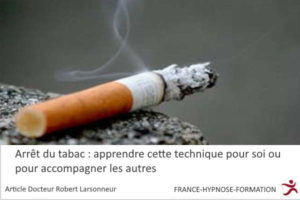 arret du tabac avec l'hypnose