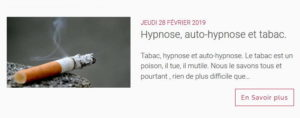 hypnose et arret du tabac
