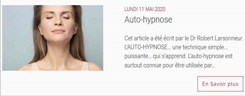 L'autohypnose : l'hypnose par soi-même... pour soi-même