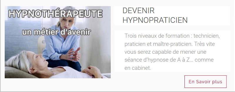Devenir hypno praticien hypnotherapeute
