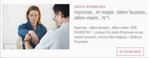 Article de france-Hypnose-Formation sur les idées vraies et les idées fausses